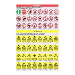 Brandskilte Brandmateriel