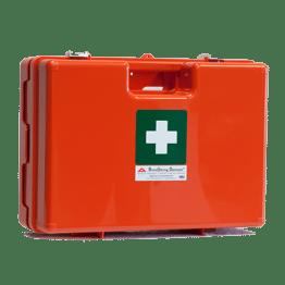 Førstehjælpskasse orange lille