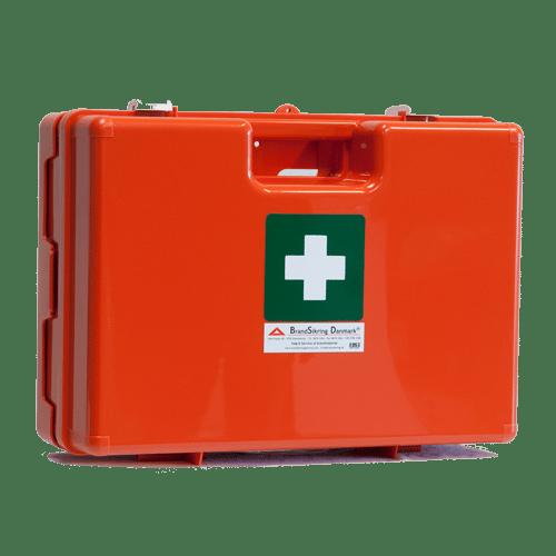 Førstehjælpskasse orange mellem