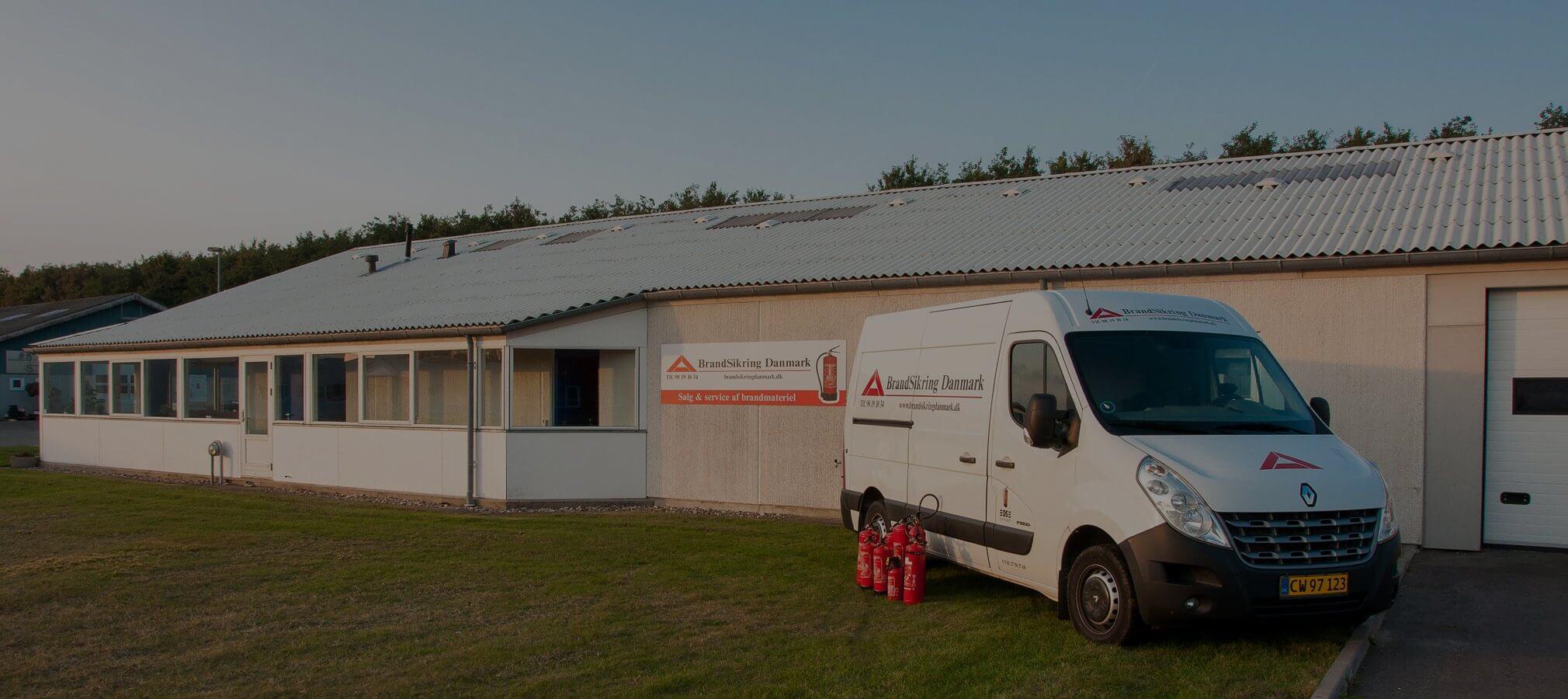 BrandSikring Danmark firmalokation